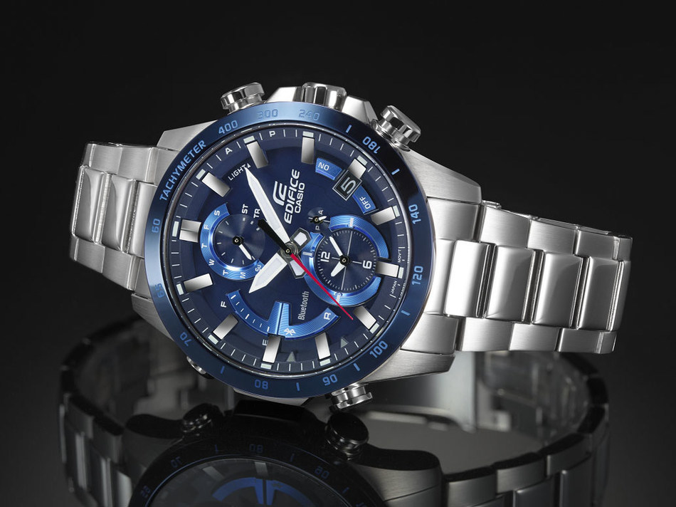 Casio announces new connected EDIFICE EQB900 timepiece.