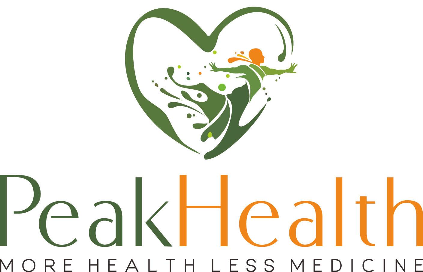 Peak Health Center Logo (PRNewsfoto/Peak Health Center)