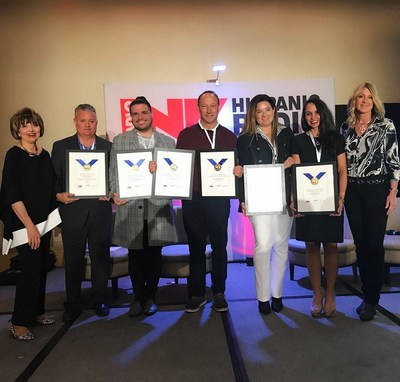 """Spanish Broadcasting System Wins Two """"Medallas de Cortez"""" Awards From Radio Ink"""