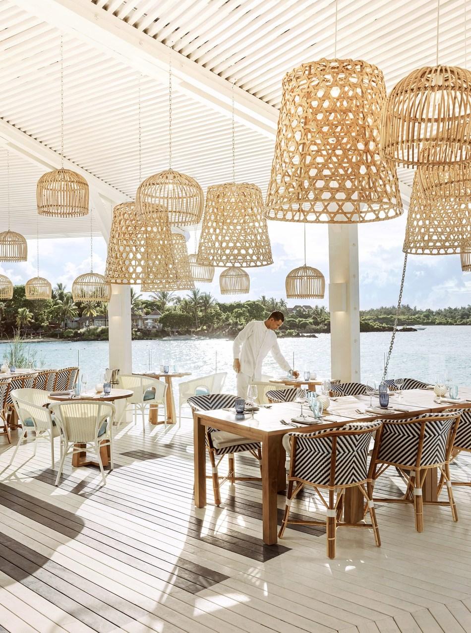 Bodrum Blue Restaurant (PRNewsfoto/LUX* Grand Gaube)