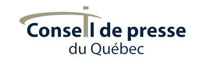 Logo : Conseil de presse du Québec (Groupe CNW/CONSEIL DE PRESSE DU QUEBEC)