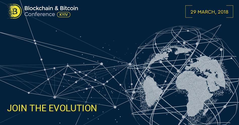 Blockchain & Bitcoin Conference, Kyiv - March 29, 2018 (PRNewsfoto/Smile-Expo)