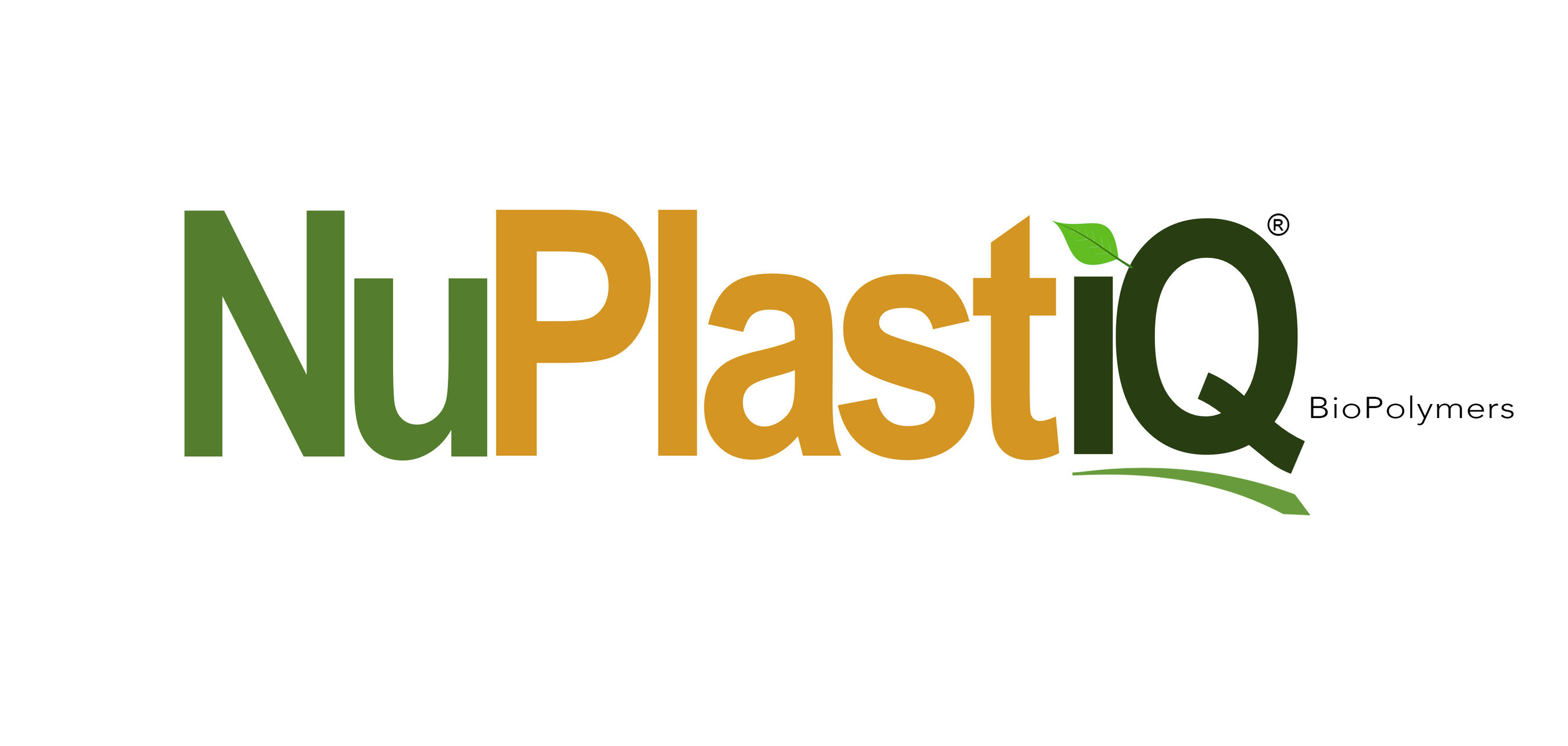 NuPlastiQ logo, from BioLogiQ, Inc.