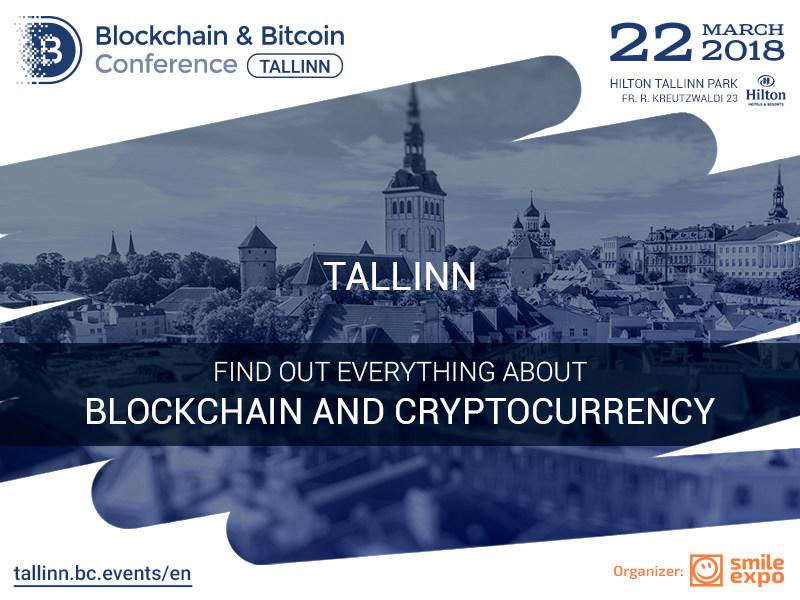 Blockchain & Bitcoin Conference, Tallinn - March 22, 2018 (PRNewsfoto/Smile-Expo)