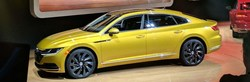 The 2019 Volkswagen Arteon will be available at the Spitzer VW showroom later this year. It is an all-new model that is based on the automaker's global architecture. Start the pre-order process today.