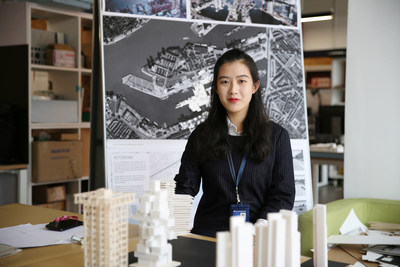 Masters of Architectural Design graduate (above), Xiaohan Chen, praised the strong teaching team at the Department of Architecture