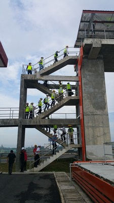 ASIAWATER 2018 organised a Technical Site Visit to the Johor River Barrage and Syarikat Air Johor (SAJ) last March 8, 2018.
