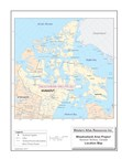 Western Atlas Resources Inc. - Meadowbank Area Project - Location Map (CNW Group/Pacific Topaz Resources Ltd.)