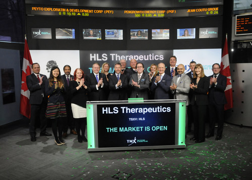 HLS Therapeutics Inc. Opens the Market (CNW Group/TMX Group Limited)