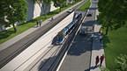 Réseau structurant de transport en commun - Tramway - Tunnel (Groupe CNW/Ville de Québec)