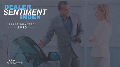 Cox Automotive Dealer Sentiment Index for First Quarter 2018