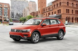 The 2018 model year is the first time the Volkswagen Tiguan features an optional third-row of seating.