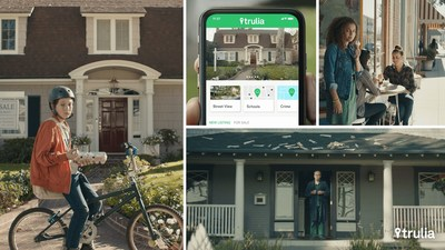 "Trulia's national ad campaign, ""Insiders,"" illustrates how the brand delivers on its new mission. The campaign personifies Trulia through colorful, authentic, and entertaining neighborhood insiders who take viewers on a neighborhood tour of the world beyond driveways and mailboxes."