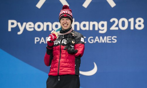 Mark Arendz (Hartsville, PEI) will lead the Canadian Paralympic Team into the Closing Ceremony as flag bearer at the PyeongChang 2018 Paralympic Winter Games. (CNW Group/Canadian Paralympic Committee (Sponsorships))