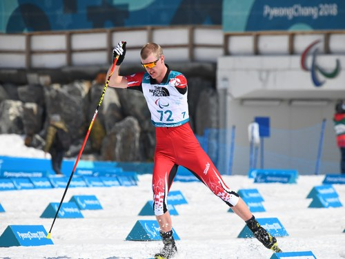 Mark Arendz will be the flag-bearer for Team Canada at the Closing Ceremony of the PyeongChang 2018 Paralympic Winter Games (CNW Group/Canadian Heritage)