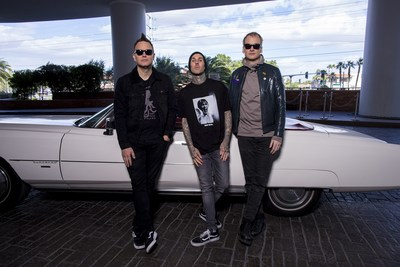 """Palms Casino Resort And Live Nation Present blink-182's """"Kings Of The Weekend"""" Rock Residency At The Newly Renovated Pearl Concert Theater"""