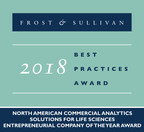 2018 North American Commercial Analytics Solutions for Life Sciences Entrepreneurial Company of the Year Award