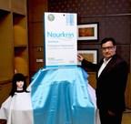 Rajesh Kapur, Senior VP Sales and Marketing, Glenmark launches Nourkrin Woman in India (PRNewsfoto/Glenmark Pharmaceuticals Ltd)