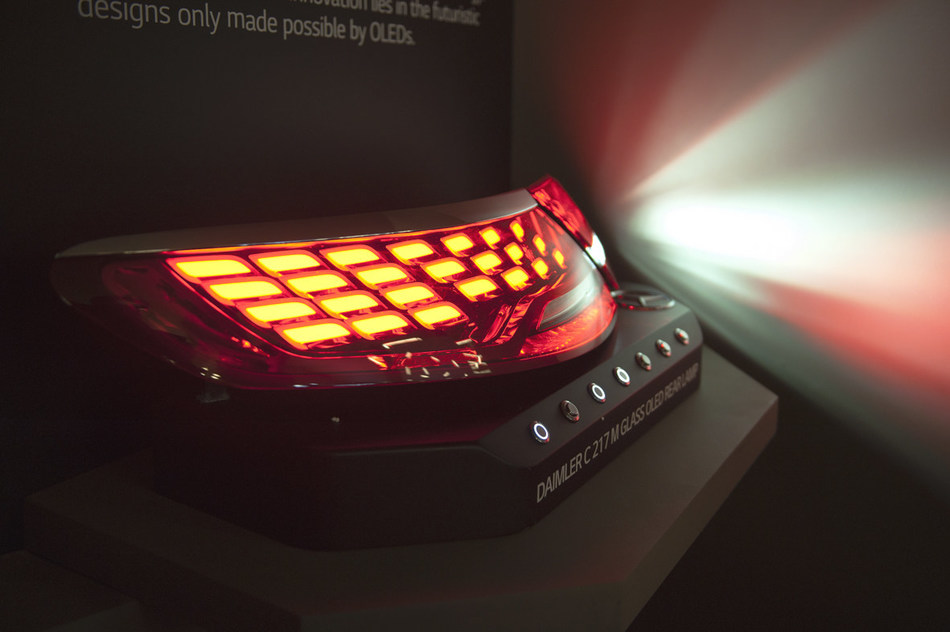 LG Display's OLED Panels for Automotive Rear Lamp
