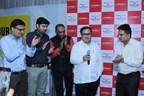 Housing Minister Prakash Mehta and Rahul Nahar ( MD, Xrbia Developers Ltd.) at Xrbia Expo, Chembur Central, Mumbai (PRNewsfoto/Xrbia)