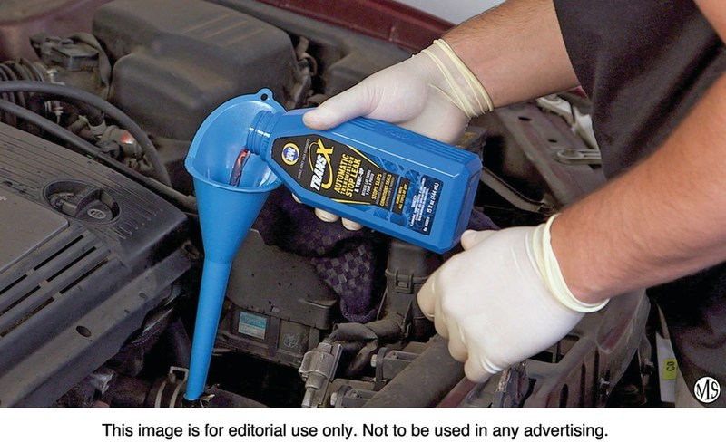 K&W® Trans-X® Automatic Transmission Stop Leak & Tune-Up fixes leaks and protects against future wear.