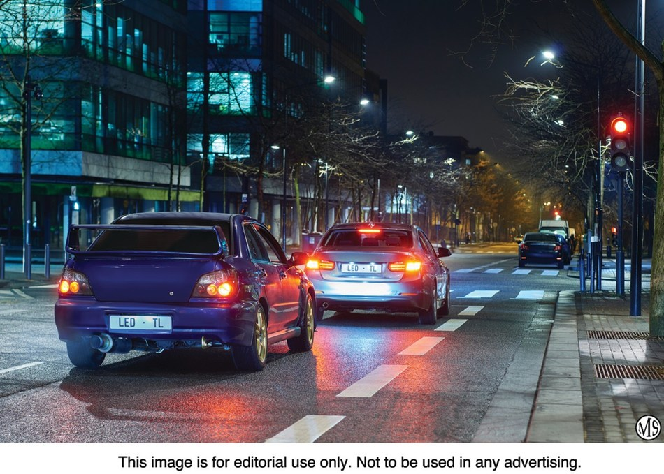 Upgrading existing brake and taillights with Philips Ultinon LEDs will make vehicles more visible to other drivers and improve braking response.