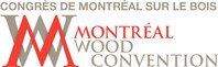 Logo: Montréal Wood Convention (CNW Group/Quebec Wood Export Bureau (Q-WEB))