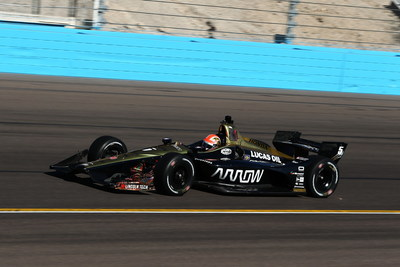 Lincoln Tech, a national leader in automotive training is an Associate Sponsor of the Schmidt Peterson #5 Arrow Electronics Honda for the 2018 IndyCar racing series season. Photo courtesy of INDYCAR.