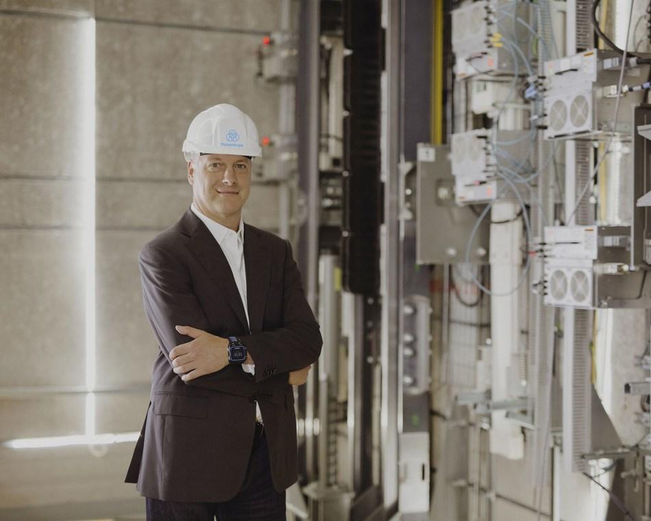 Andreas Schierenbeck, CEO at thyssenkrupp Elevator (PRNewsfoto/thyssenkrupp Elevator AG)