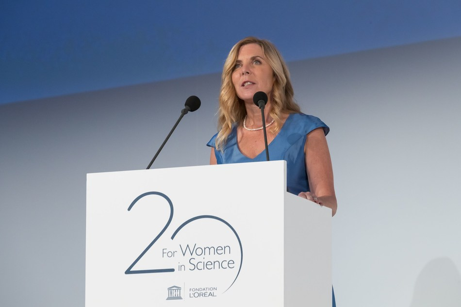 L'Oreal-UNESCO For Women in Science : Latin America Laureate Prof. Amy. T. Austin (PRNewsfoto/L'Oreal Foundation)