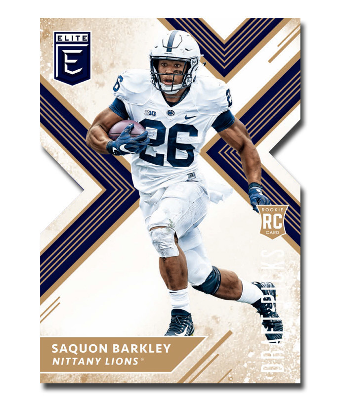 PANINI AMERICA INKS TOP NFL DRAFT PROSPECT AND FORMER PENN STATE STAR RUNNING BACK SAQUON BARKLEY TO EXCLUSIVE AGREEMENT FOR TRADING CARDS, MEMORABILIA