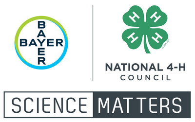 By launching Science Matters in August 2017, Bayer and National 4-H Council have committed to equip at least 25,000 students in urban, suburban and rural areas alike with the tools and support they need to deepen their understanding of science.