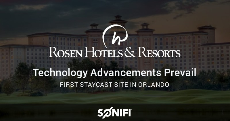 Technology advancements prevail at rosen hotels resorts for Cutting edge technology news