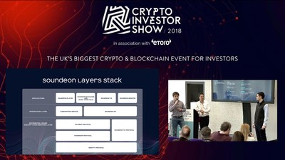 At the Crypto Investor Show in London on March 10, 2018.