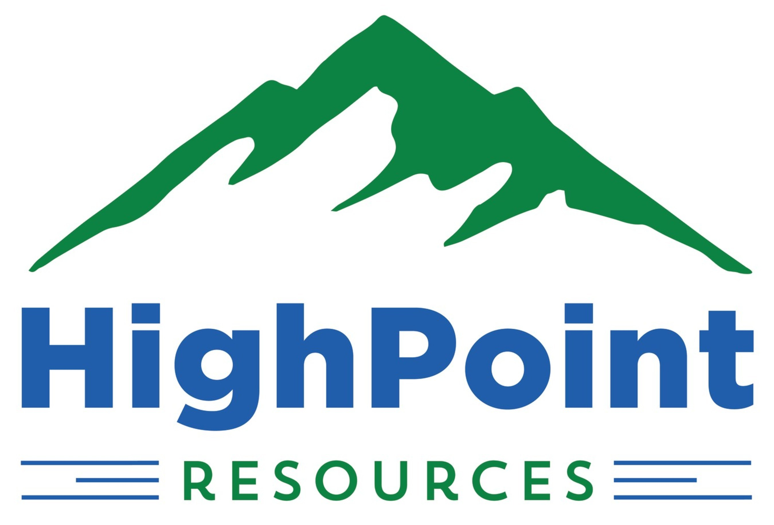 HighPoint Resources Logo (PRNewsfoto/Bill Barrett Corporation)