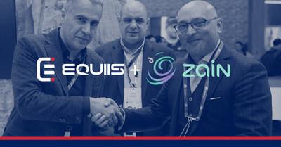 EQUIIS & Zain Jordan Partnership