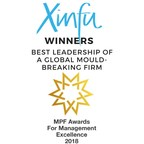 Xinfu Wins Best Leadership of a Mould-Breaking Firm in the 16th Annual MPF Awards for Management Excellence