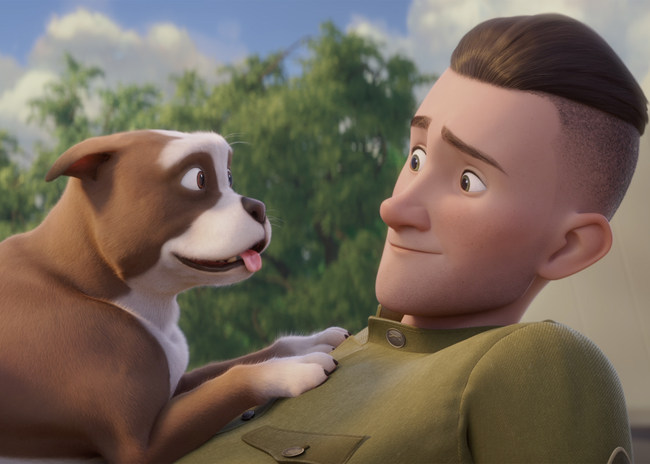 Based on the real-life story of America's first and most decorated war dog in history, Sgt. Stubby: An American Hero, opening on April 13 nationwide, is a heartwarming 'tail' for the entire family!