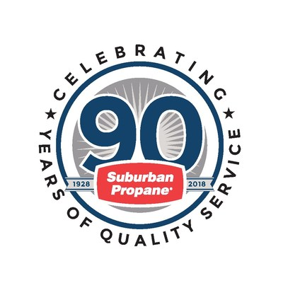 Suburban Propane 90th Anniversary Logo