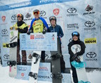 Toyota Supergirl Snow Pro Wraps With US Olympic Team Rider, Faye Gulini, and Olympic Gold Medalist, Hannah Teter, Claiming First Place -- and the Coveted Supergirl Capes -- in Boardercross and Halfpipe