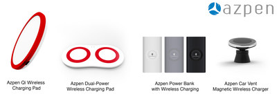 All of the units have a non-slip design, assuring devices won't slip off while being charged. Each comes with a micro USB cable or DC for powering, and is unbelievably easy to use.