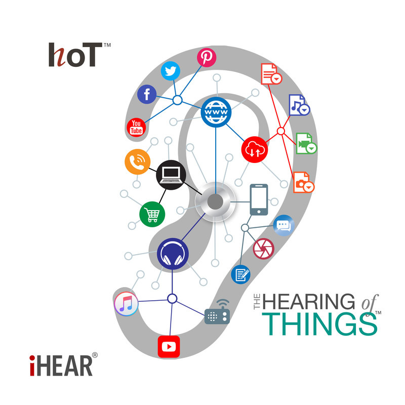 The Hearing of Things™ (HoT™) standard will offer real-time health tracking, voice commands, and seamless connectivity to other smart devices, including mobile phones and home appliances.