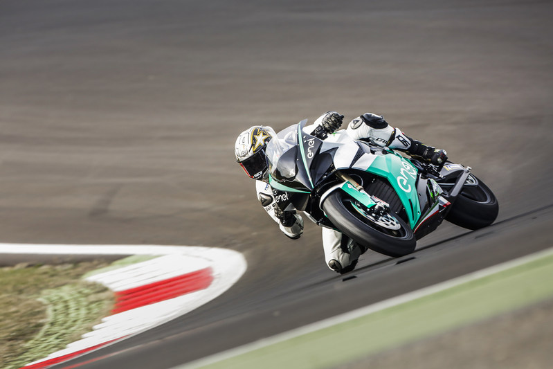 CRP Group technological partner for the FIM Enel MotoE™ World Cup