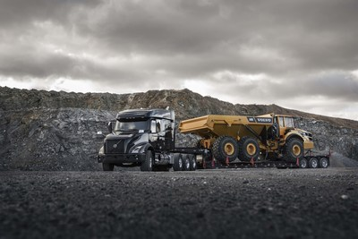 Volvo Trucks' rugged, yet refined new VNX series is now available for order. Built specifically for the needs of heavy-haul trucking operations, the Volvo VNX series packs the power and performance needed for demanding applications such as logging, heavy equipment transport, and long combination vehicles.