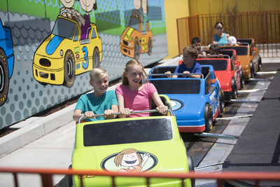 Carowinds introduces Camp Snoopy with six new Peanuts themed rides and attractions.