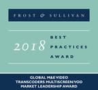 Ericsson Earns Frost & Sullivan's Global Market Leadership Award for its Innovative Media Processing Solution