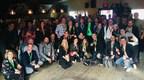 La délégation du Québec à South by Southwest 2018, à Austin, au Texas. (Groupe CNW/Cabinet de la vice-première ministre, ministre de l'Économie, de la Science et de l'Innovation et ministre responsable de la Stratégie numérique)