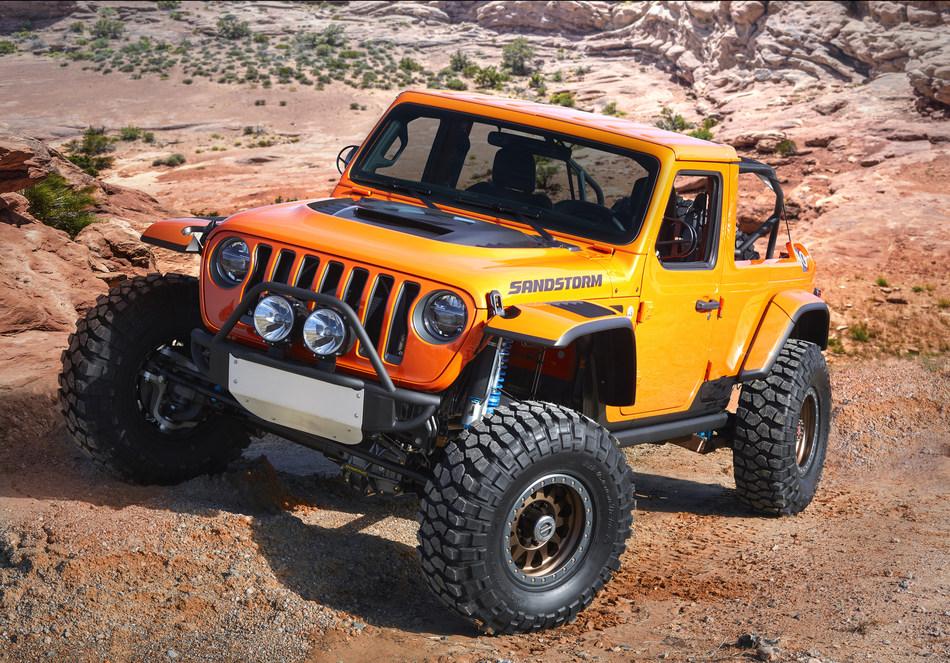 Jeep® Sandstorm Concept