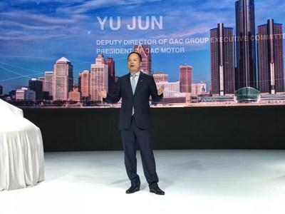 Yu Jun, presidente da GAC Motor (PRNewsfoto/GAC Motor)