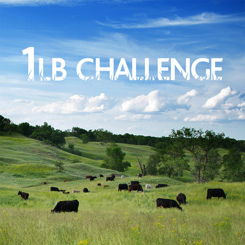If every American household purchased 1LB of American-raised, grass finished beef each week we could preserve more than a million acres of grasslands and keep millions of pounds of toxic chemicals off our land and out of our water, annually. Won't you join us?